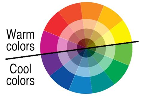 cool and warm colors how to use warm color in design projects design shack