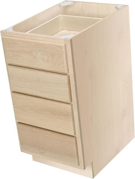 3 drawer base cabinet unfinished quality one 15 quot x 34 1 2 quot unfinished premium oak 4 drawer