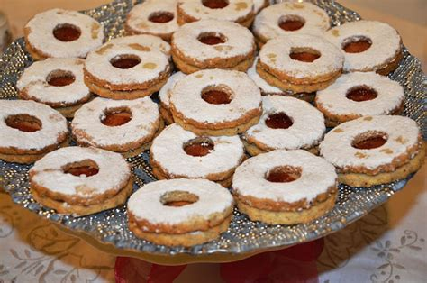 linzer schnitten linzer schnitten linzer cake cook and post