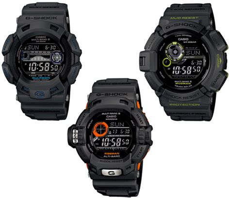 Casio G Shock Grey casio g shock quot in smoky grey quot collection mudman