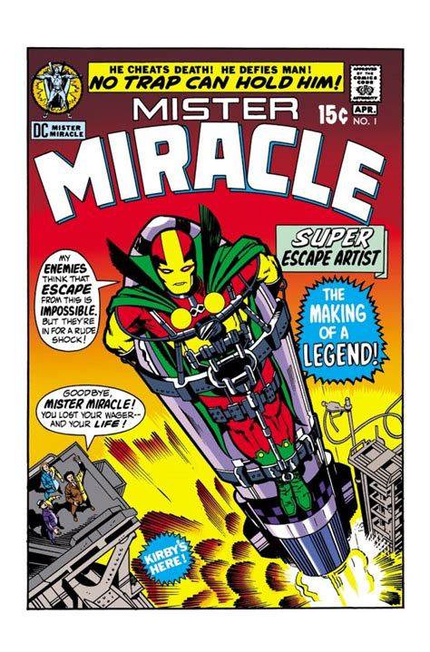 mister miracle by kirby new edition dc comics continues to celebrate kirby s 100th birthday