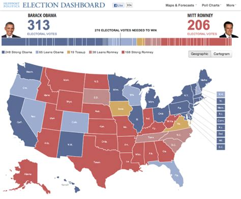 New Poll Models Or by New Polls 2012 Map