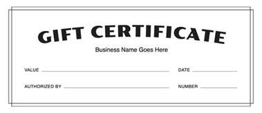 gift certificate template pdf gift certificate templates free gift