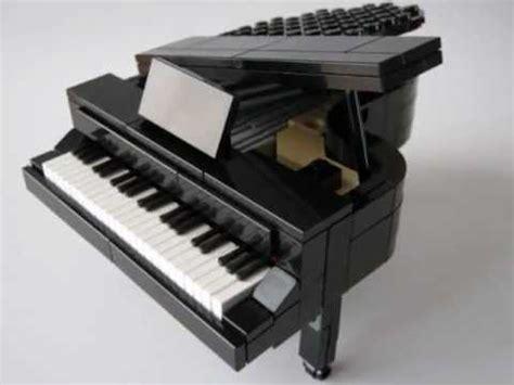 lego keyboard tutorial lego grand piano legoland size youtube