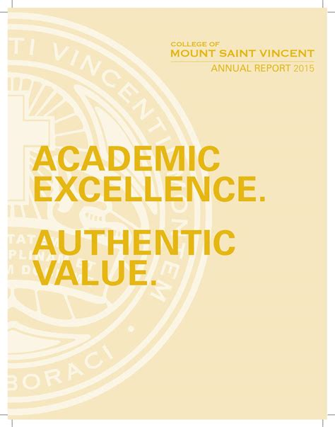 National Insurance Table Letters 2015 16 College Of Mount Vincent Annual Report 2015 By College Of Mount Vincent Issuu
