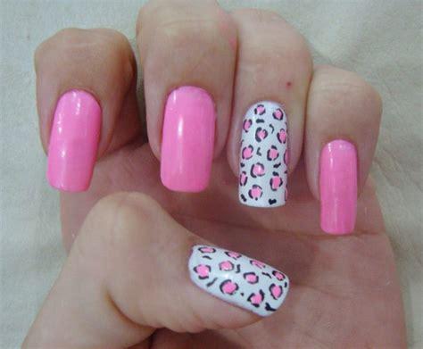imagenes de uñas pintadas rosa unhas decoradas de oncinha passo a passo e fotos