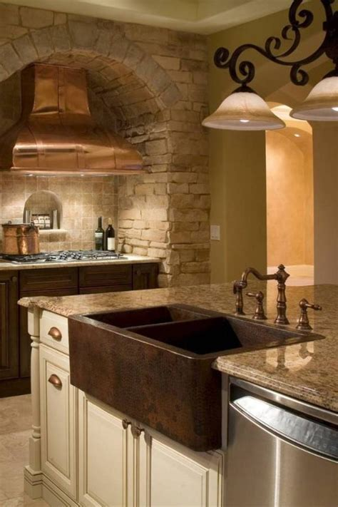 kitchen faucets for granite countertops 25 best ideas about copper sinks on copper