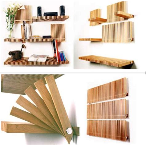 Fold Out Shelf by Storage For Small Spaces The Tiny