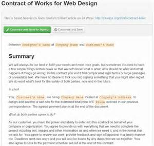 Interior Design Company Names where to find web design contract templates for web design