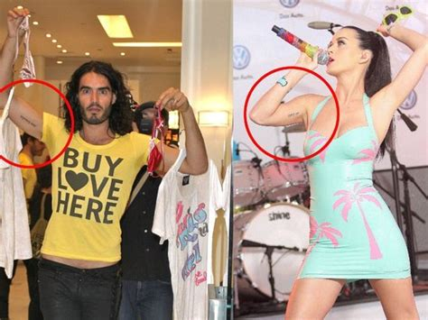 did russell brand get his tattoo removed for katy pery fans with truethresholds