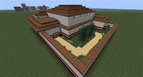 First Floor Master Home Plans by Roman Villa Domus Minecraft Project