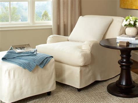 chair and ottoman slipcover sets slipcovers for chairs ottomans and more hgtv
