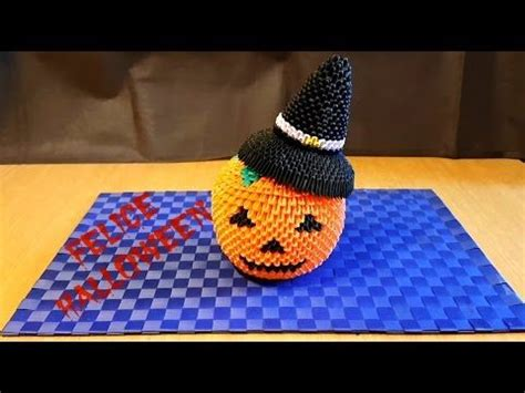 tutorial origami zucca 45 best images about halloween origami on pinterest