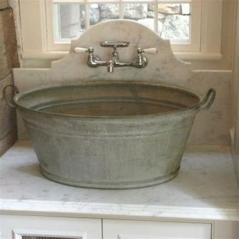 Wash Tub Sink by Great Idea For Outdoor Toilet Outdoors Home