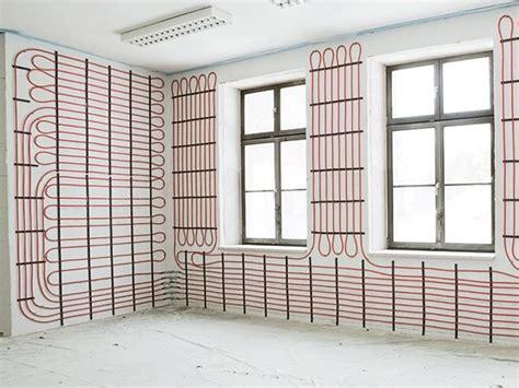 riscaldamento a pavimento pregi e difetti riscaldamento a parete come riscaldare riscaldamento a