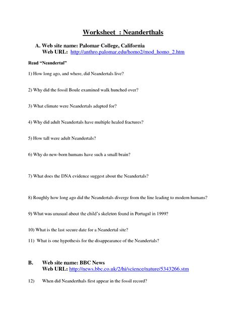 Evidence Of Evolution Worksheet Answers by 16 4 Evidence Of Evolution Worksheet Answers