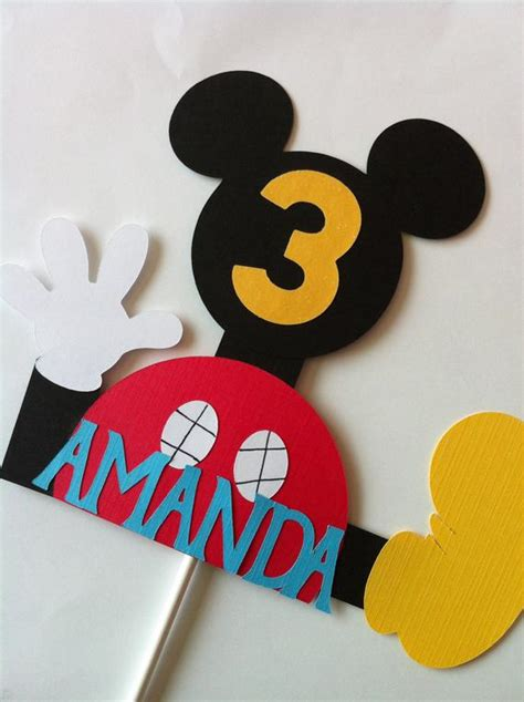 items similar  mickey mouse clubhouse cake topper  etsy