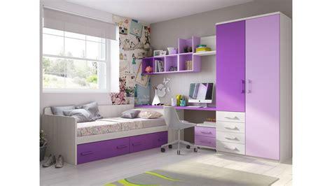 chambre ado fille avec armoire courbe pratique glicerio
