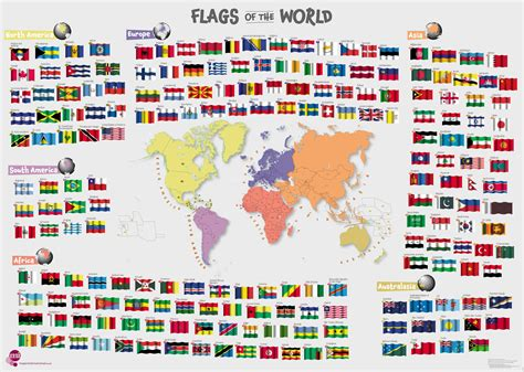 flags of the world quiz ks2 world map flags poster image collections word map images