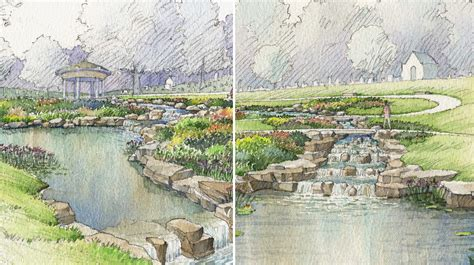 Bellefontaine Gardens by Early Concept Renderings Illustrate The Intended Character
