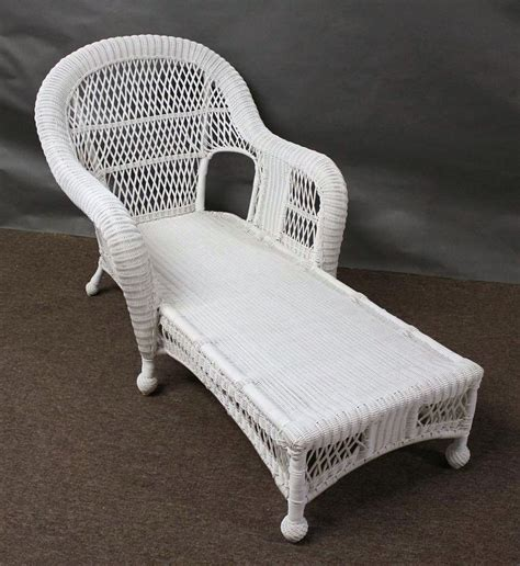St Lucia Outdoor Wicker Chaise Lounge All About Wicker