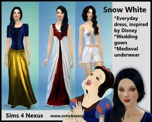 snow white sims 4 nexus