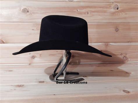 Horseshoe Cowboy Hat Rack by Horseshoe Cowboy Hat Rack Cowboy Hat Stand Single Cowboy Hat