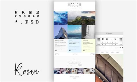tumblr themes free business premium tumblr theme free psd download download psd
