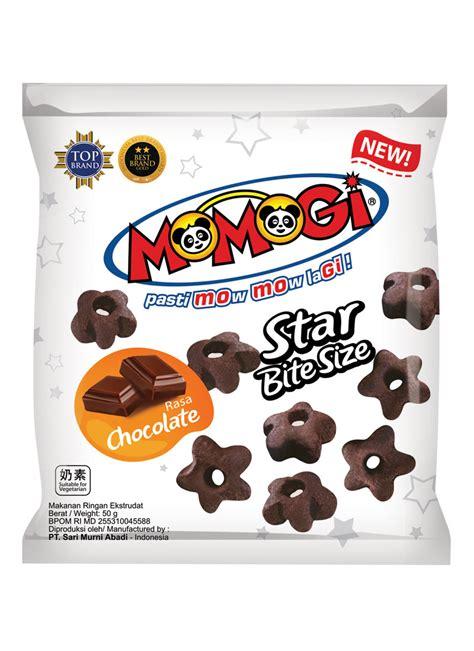 momogi snack chocolate pck 50g klikindomaret