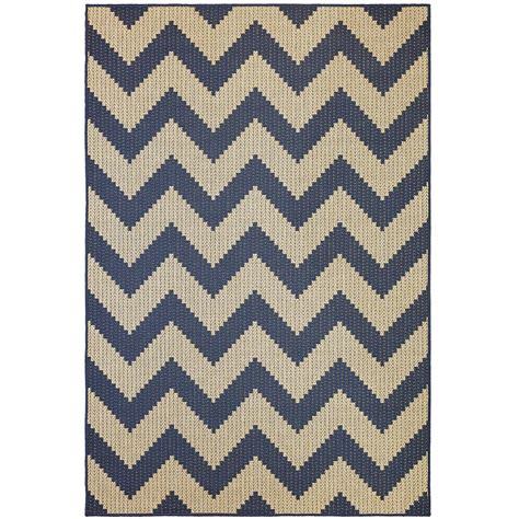 chevron print area rugs mohawk home tofino chevron navy 5 ft 3 in x 8 ft area rug 006271 the home depot