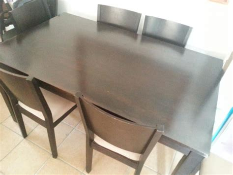 bargain dining room table and chairs for sale cape town