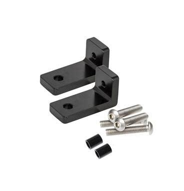 piaa light mounting brackets piaa mounting l brackets for lp270 series led driving