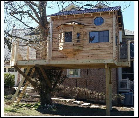 three house plans tree house plans design