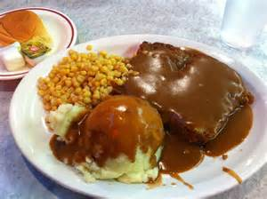 meatloaf with the worst corn i ve ever had yelp
