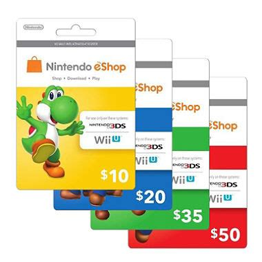 Eshop Gift Card - nintendo eshop gift card various amounts sam s club