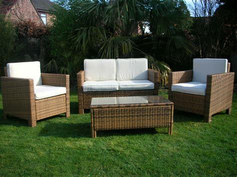 Outdoor Garden Sofas Uk by New Garden Rattan Wicker Outdoor Conservatory Furniture