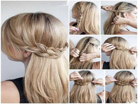 easy to make hairstyles for thin hair easy updos for long hair for work hair styles