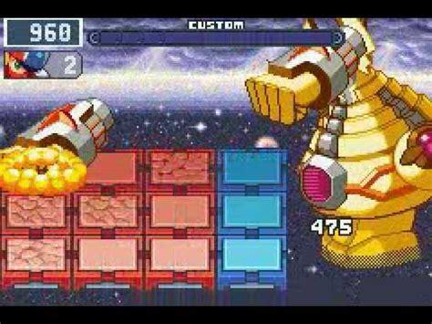 megaman battle network 4 blue moon [final boss] megaman