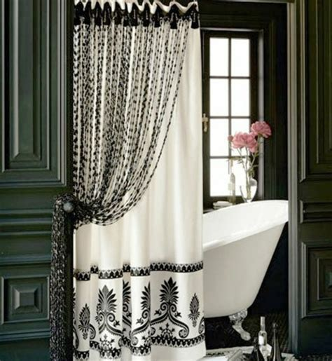 bathroom with shower curtains ideas 30 curtains decoration exles dress up the windows