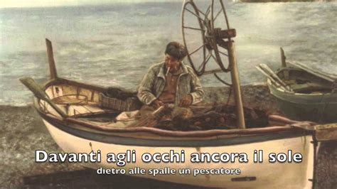 pescatore testo il pescatore fabrizio de andr 232 versione originale