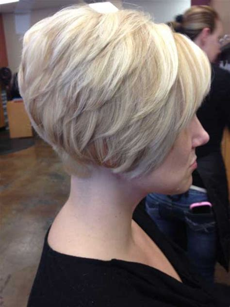 bob haircut with stacked back popular stacked bob haircut pictures short hairstyles