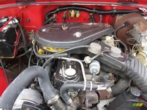 1990 jeep wrangler s 4x4 4 2 liter ohv 12 valve inline 6