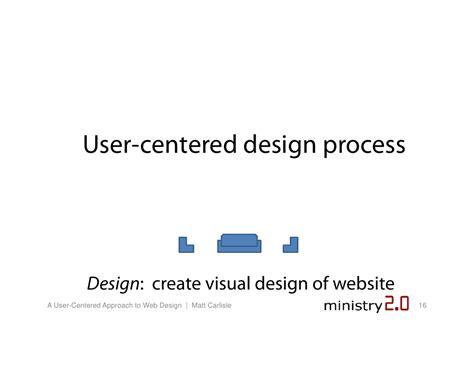 web design centered layout ministry 2 0 user centered website design matt carlisle
