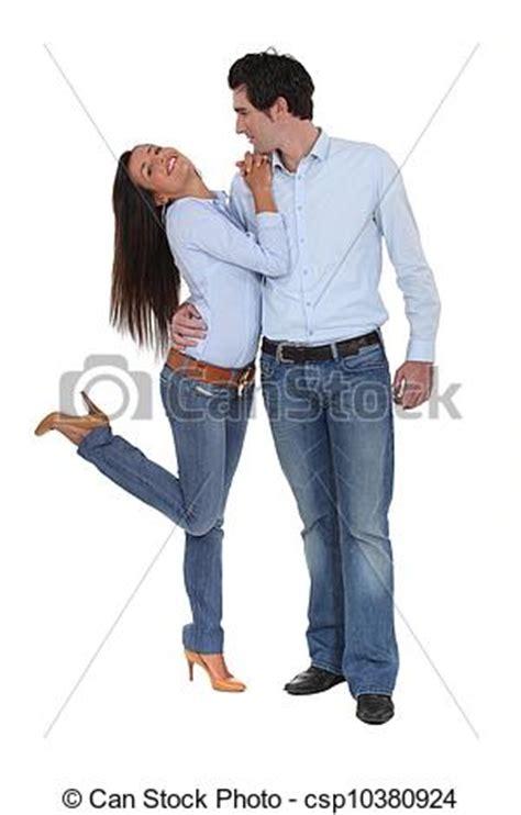 imagenes vaqueras de parejas stock fotos de coordina pareja tela vaquera csp10380924