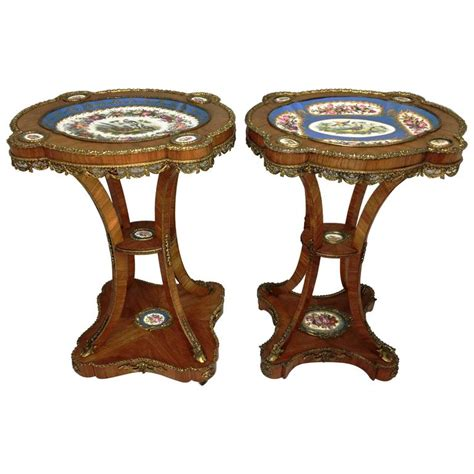 Porcelain Table L by 19th Century S 232 Vres Porcelain Tables For Sale At 1stdibs