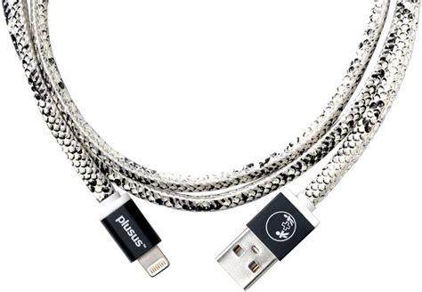Lifestar Lightning Cable 1m Moonlight Silver plusus lifestar handcrafted usb charge sync cable 1m