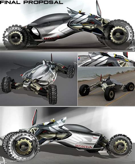 concept off road wordlesstech honda synergy off road buggy concept