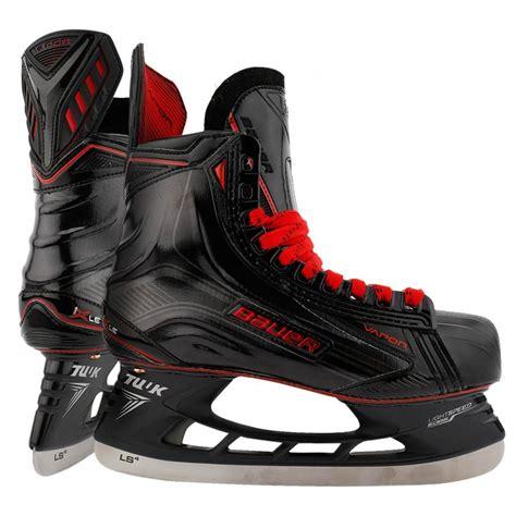 bauer vapor 1x le black senior hockey skates