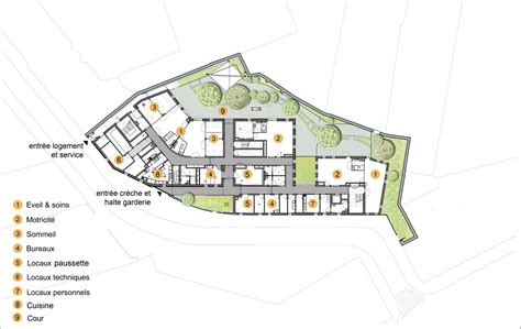 day care center floor plan gallery of day care center rh architecture 21