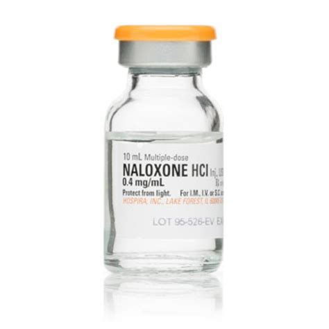 Ia Oxone ace surgical supply co inc naloxone 0 4mg ml 10ml dose glass fliptop vial